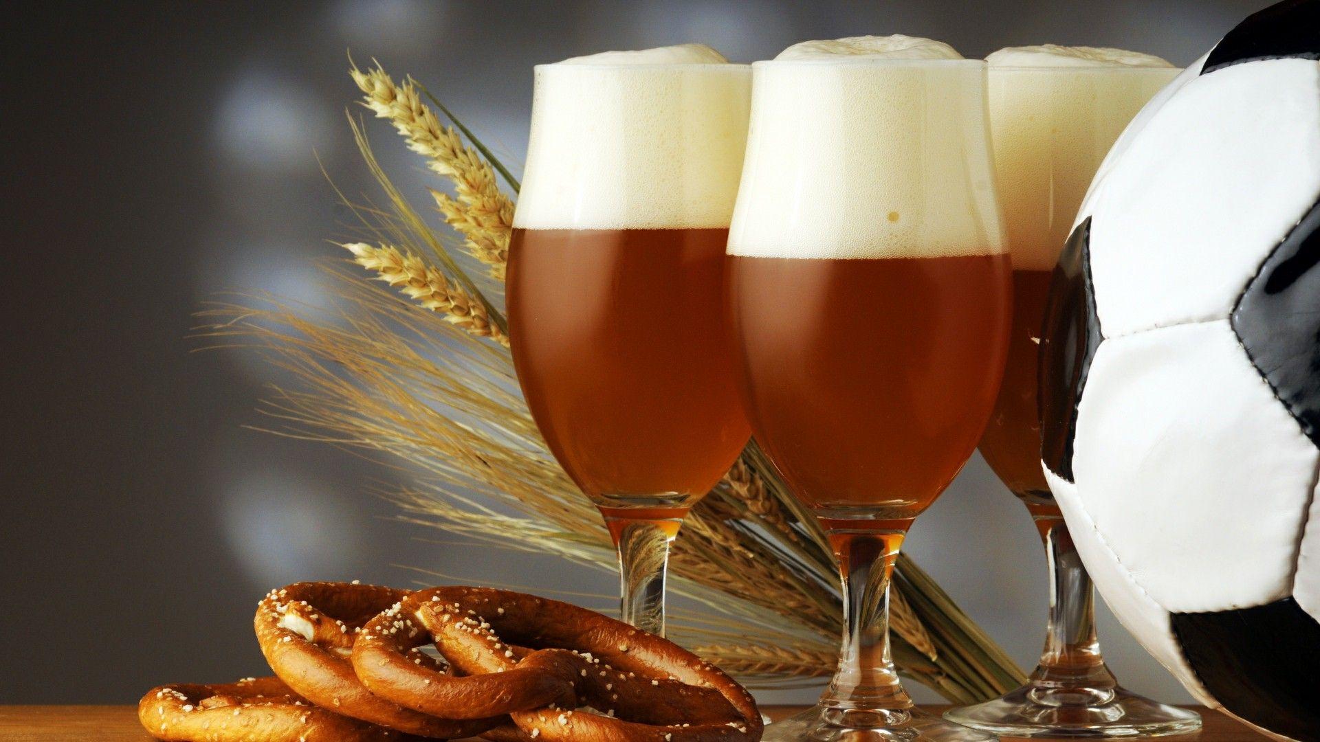 La bière et la coupe du monde de football